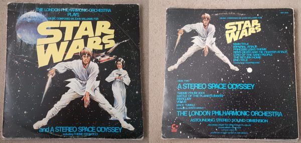 The London Philharmonic Orchestra - Star Wars / Stereo Space Odyssey