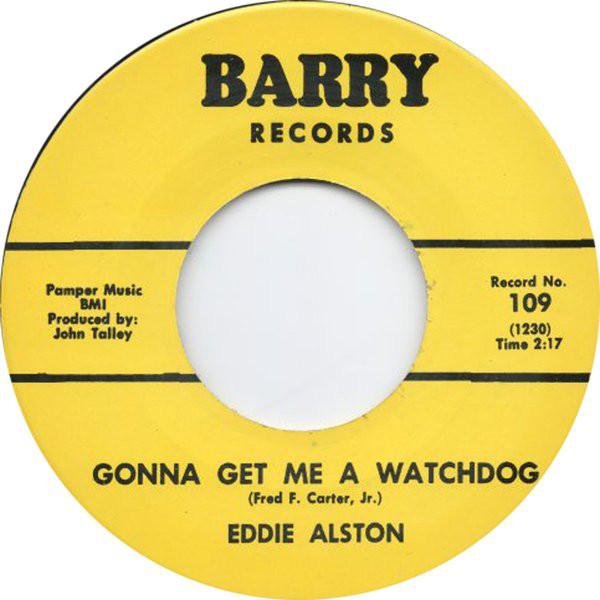 Eddie Alston - I Just Can't Help It