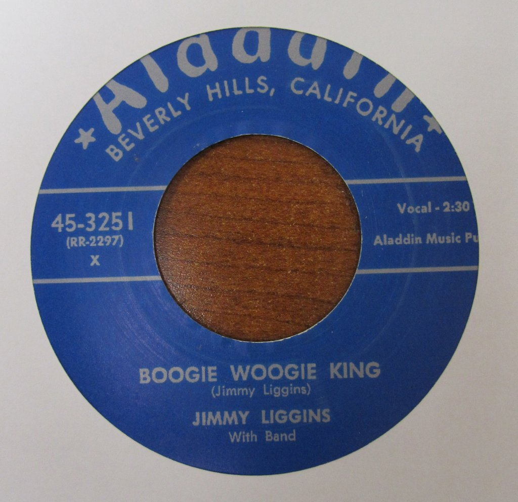 Jimmy Liggins - Boogie Woogie King / No More Alcohol