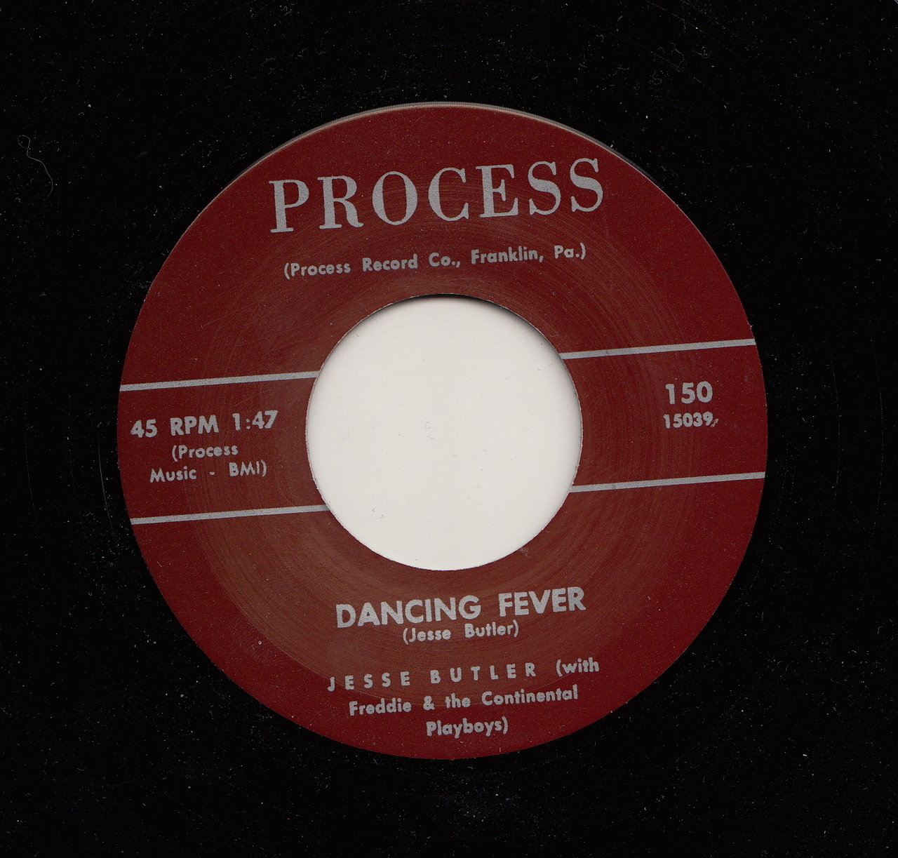 Jesse Butler - Dancing Fever / Tear Drops And Pennies
