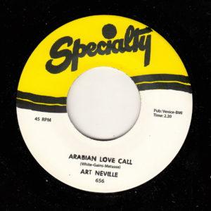 Art Neville - Arabian Love Call / What's Going On