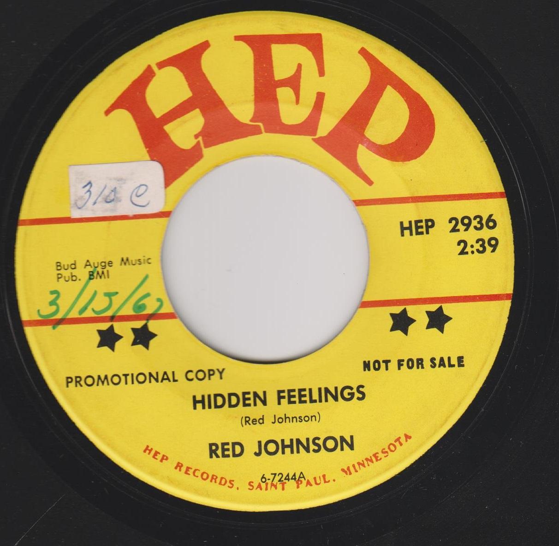 Red Johnson - Hidden Feelings / Big Brave Me