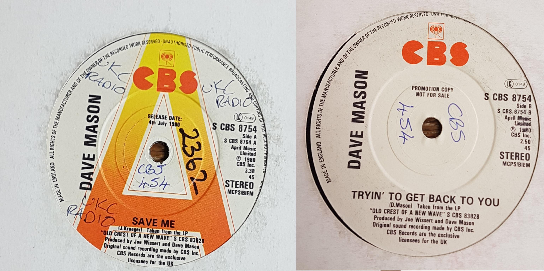 Dave Mason - Save Me