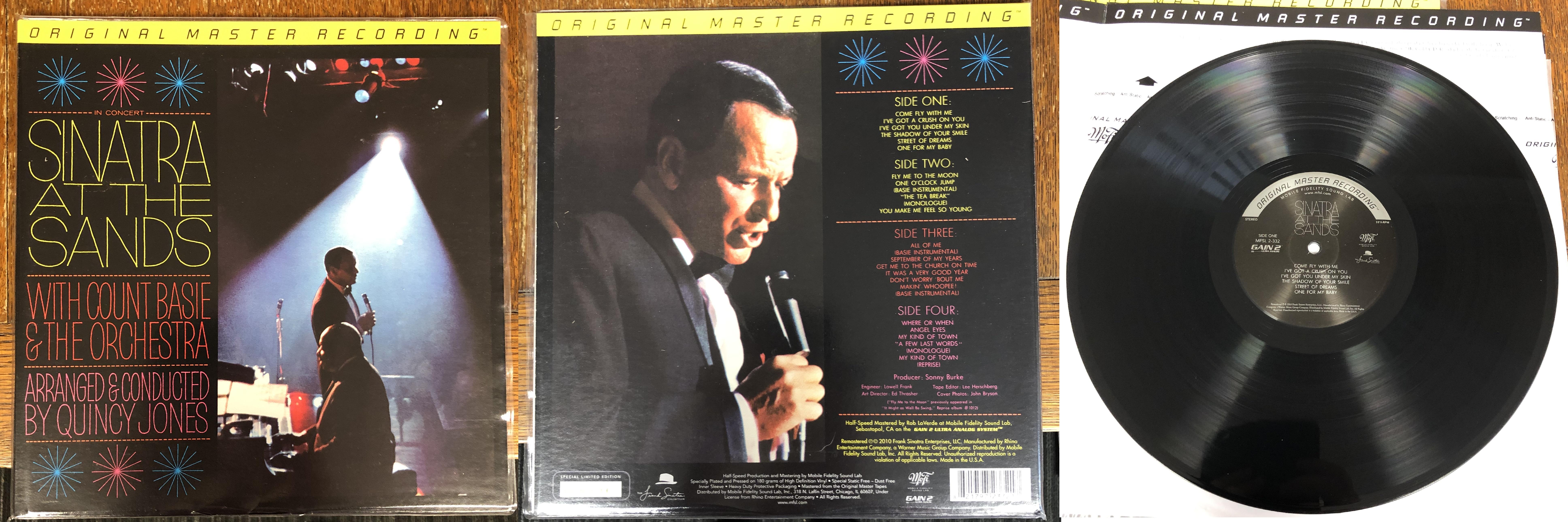 Frank Sinatra - Sinatra at the Sands
